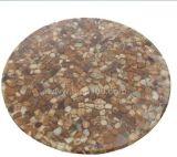 レストランの玉石の樹脂表(RST-102)