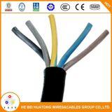 Baja tensión H05RN-F H07RN-F 3X1,5 3x2.5 mm2 de 3X4 Cable Flexible de goma