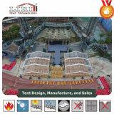 명확한 투명한 PVC 지붕 및 측벽을%s 가진 20X20 미터 프레임 천막