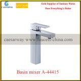 正方形の単一のレバー衛生製品の浴室の洗面器水ミキサー