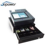 """"""" caisse comptable integrated de position de supermarché d'imprimante thermique d'étalage du contact 10"""
