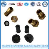 Black Color Nylon Plastic Water Meter Accessoires de Dn15-25mm