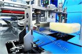 Material de embalaje de plástico semi-automático y el pan de grado automática Máquina de embalaje