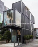 Casa de café móvel portátil bem-desenvolvida/barra pré-fabricadas/Prefab
