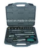 "33PCS 1/я "" & 1/2 "" Dr. Socket Set, Socket Tool Set с Германией Kraft Tool Set"