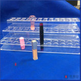 Oplossing van de Doos van het Geval van de Opslag van de Houder van de Lippenstift van de Organisator van de make-up de Acryl