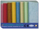 Écran antibruit de fibre de polyester d'isolation thermique
