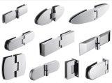 La porcelaine sanitaire profil aluminium cabine de douche en verre trempé 900 X 900/1000 x 1000 mm