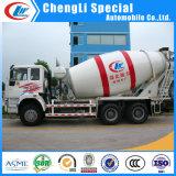 Sinotruk HOWO 6cbm 8cbm camión mezclador de cemento de hormigón de 8 m3