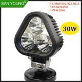 Spot LED 30W Lampe à LED pour feux de brouillard Offroad voitures, Motercycle