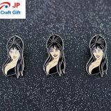 Personalizar la forma de mujer insignia de solapa para la venta
