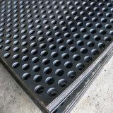 Folha de metal perfurada para filtração/decorativa de teto/isolamento de som