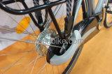 黒い自転車のShimanoの内部の3つの速度ギヤ都市電気バイクのE-Biycle Eのスクーターの合金フレームデザイン
