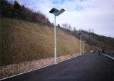 Type à fente 80W LED intégrée Rue lumière solaire avec un téléphone mobile APP (CNU-280)