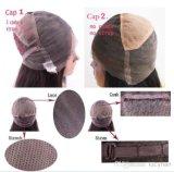 Perucas cheias do laço de Glueless do cabelo brasileiro do Virgin