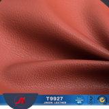 Piccoli grani e cuoio di cuoio venato profondo del PVC del Faux per il tessuto duro del sofà del cuoio della base del pacchetto del sacchetto molle