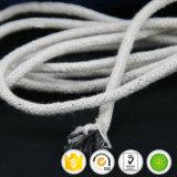 По конкурентоспособной цене за круглым столом хлопка экранирующая оплетка кабеля питания хлопка веревки