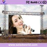 외부 (P2/P2.5/P3/P3.91/P4/P5/P4.81/P5.95/P6/P6.25/P8/P10)를 광고하는 영상 벽을%s 실내 옥외 임대료 발광 다이오드 표시 스크린 위원회