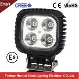 Hot Spot LED d'inondation de 40W Lampe de travail pour chariot élévateur à fourche tracteur (GT1013B-40W)