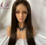 Les bouts épais Remy Virgin Cheveux humains Transprant de densité de 200 % de la Dentelle Haut de la soie Full Lace Wigs