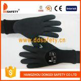 13G poignée en mousse de latex Polyester enduit de caoutchouc de la sécurité de chemise de gants de travail