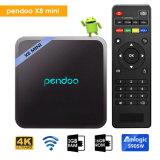 Set Top Box Pendoo X8 Mini-S905W Mini Quad Core IPTV Internet inteligente Android Caixa de TV