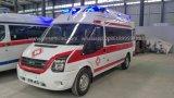 Ziekenwagen van de Noodsituatie van de Transmissie van de doorwaadbare plaats 4*2 de Automatische voor Verkoop