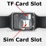 Teléfono elegante del reloj de la manera con la ranura para tarjeta Gt08 de SIM
