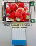 """접촉 스크린을%s 가진 128X160 TFT LCD 디스플레이 1.8 """" LCD 모듈 (LMT018DNBFWD)"""