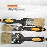 Escova de pintura de madeira da cerda do punho F-02