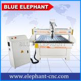 маршрутизатор CNC 1325 1300mm * 2500mm деревянный высекая, дверь PVC делая машину, машину CNC Woodworking для сбывания