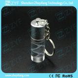 Moda Cilindro Shape Crystal USB Stick (ZYF1505)