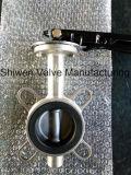 ISO5752 Vleugelklep met het Toestel van de Worm/Elektrische Actuator
