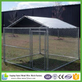 Style de chaînette Hot DIP Galvanized Iron Dog Kennel