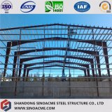 Stahlkonstruktion verschüttet/Lager für Speicherung