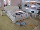 Dernière conception maison moderne lit en cuir (6009)