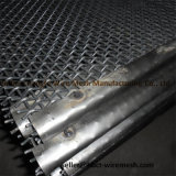 rete metallica d'acciaio di estrazione mineraria 65mn, rete metallica unita acciaio 45mn