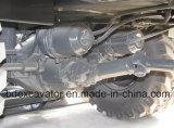 8.5 toneladas de nuevo pequeño de Baoding de tierra de la maquinaria móvil excavador amarillo de la rueda para la venta