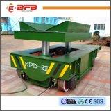 Vagone di trattamento elettrico di uso industriale pesante con la staffa di supporto di V