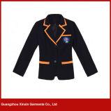 Uniformes ocasionais feitos sob encomenda do blazer da escola para o estudante da escola preliminar (U15)
