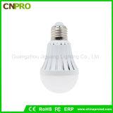 As lâmpadas mágicas inteligente LED 5W recarregável da Lâmpada da Luz de emergência