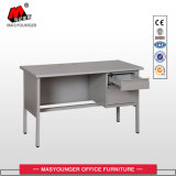 Vector grande del escritorio del metal de la secretaria de Excutive de la oficina con 3 cajones