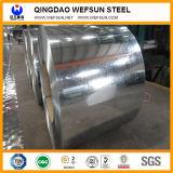 Bobina d'acciaio galvanizzata (galvanostegia: 60-180g) Fatto in Cina