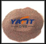 Granate de chorreo de arena arena abrasiva 30/60/80 Arena de granate de malla