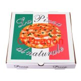 Contenitore di pizza che chiude gli angoli a chiave per stabilità e durevolezza (PIZZ-008)