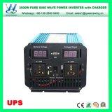 2000W Convertor van de Sinus van de Omschakelaars AC220/240V van UPS DC48V de Zuivere (qw-P2000UPS)