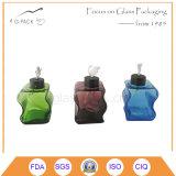 De kleurrijke Tank van de Olie van het Glas met Wiek, de Lamp van de Olie, de Lamp van de Kerosine