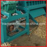 二重シャフトの木またはタケのいかだのシュレッダー機械