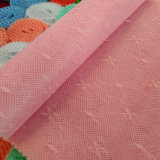 China proveedor 50d de Jacquard 100% poliéster tela mosquitera