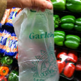 Sac en plastique transparent de fruit de HDPE